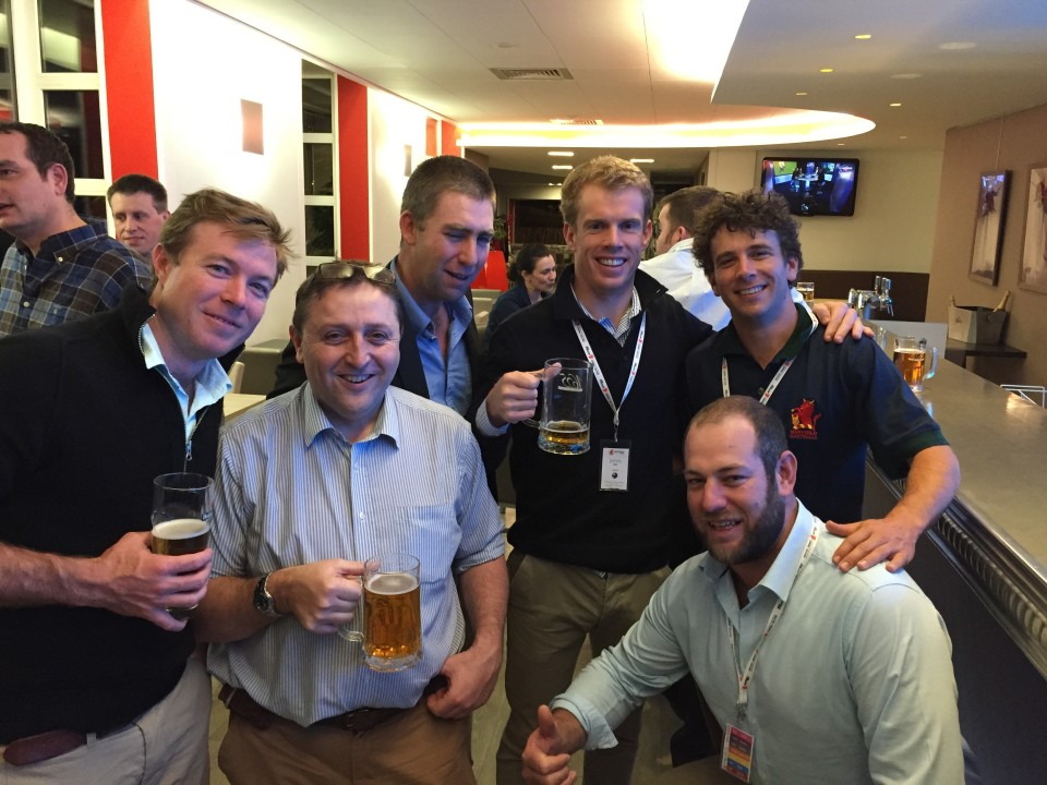 Jock Graham (NSW), Aled Davies (Wales), Andrew Baldock (SA), James Terry (VIC), Matt McVeigh (QLD) and Myself,