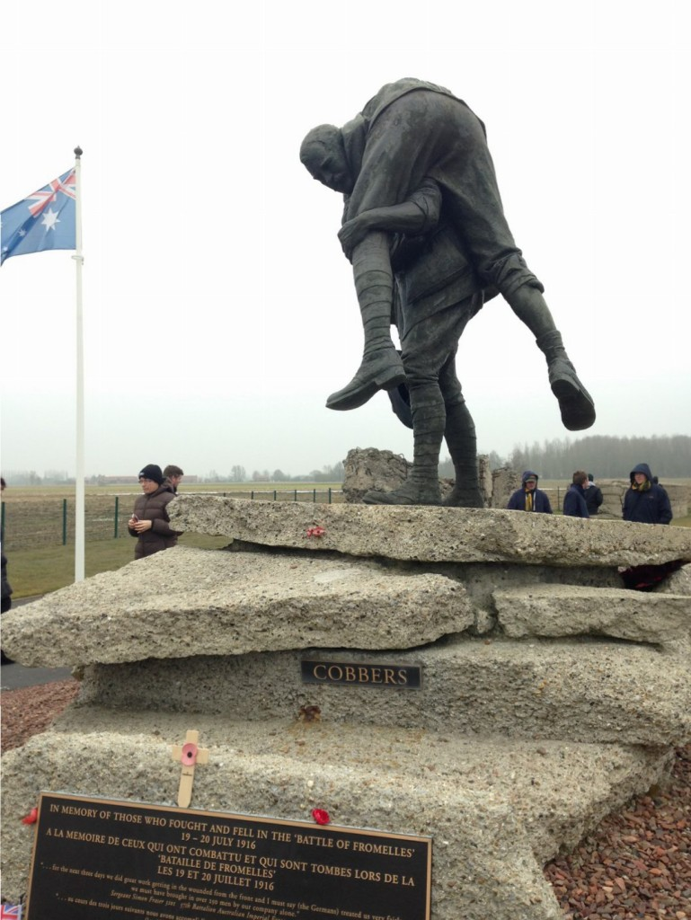 Battle of Fromelles, Fromelles Cobbers Memorial, France