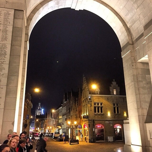The last post, Menin Gate, Ypre, Belgium #foreverremembered