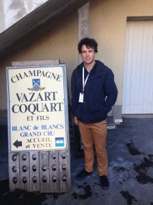 We toured a  traditional champagne winery, Vazart.